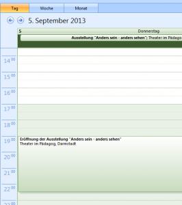 Kalender-Eintrag
