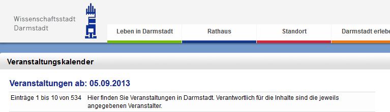VSK Darmstadt Header