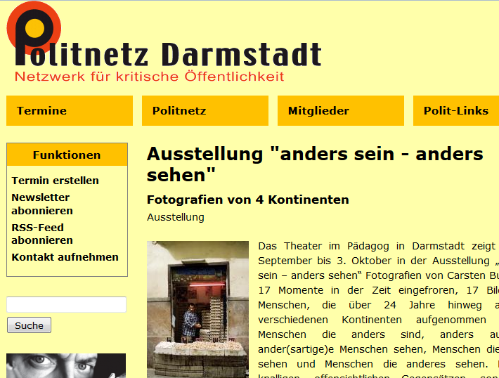 ASAS bei Politnetz Darmstadt